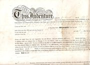 Apprentice Indenture dated 186