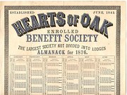 Benefit Society Almanack  1876