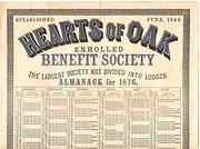 Benefit Society Almanack  1876