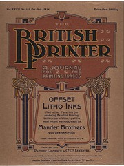 British Printer  OctNov 1914