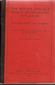 Bryant  May Catalogue and Supp