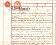 Edwardcian  Indenture of 1909