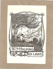 ExLibris Bookplate circa 1900s