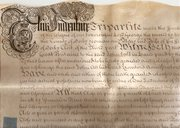 George II Indenture dated 1729