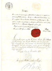 German Document of 1872