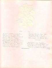 Handwritten Verse  circa 1850