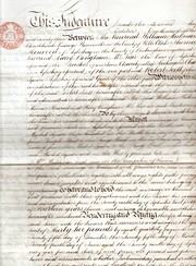Hickmans Charity Indenture of