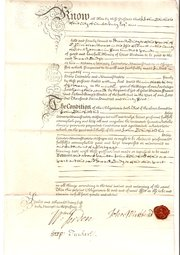 Kent Obligation Bond Dated 173