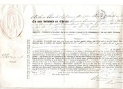 Marriage Licence  dated 1871