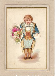 Moscow New Year Card dated 188