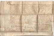 Scottish Tudor Document dated