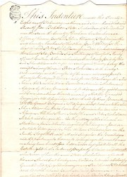 Stockton Indenture 1775