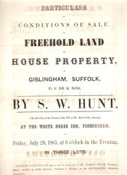 Suffolk Jobbing Printed Auctio