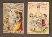 Two Perfume Cards of circa 189