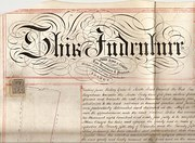 Victorian Indenture dated 1864