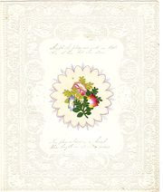 Victorian Paper Lace Valentine
