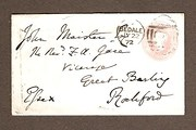 Victorian Postal Envelope with
