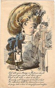 Victorian Satirical Valentine