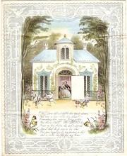 Victorian Valentine C 1860s