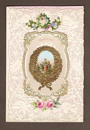 Victorian Valentine Card of 18