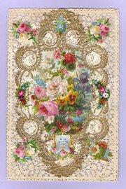 Victorian Valentine Sheet circ