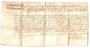 Wiggenholt Vellum Document dat