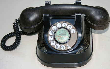 1950's Bell Desk Telephone