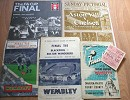 Dave Johnson Old Football Programmes